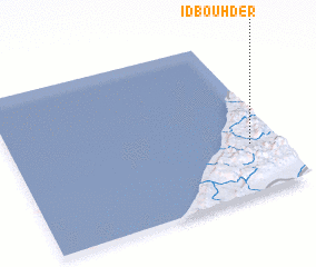 3d view of Id Bouhder