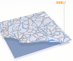 3d view of Debli