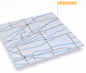 3d view of Oronoque
