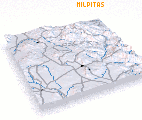 3d view of Milpitas