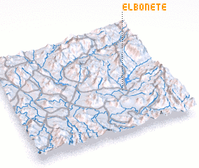 3d view of El Bonete