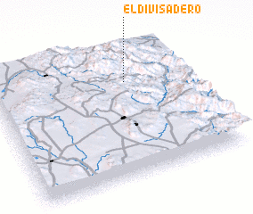 3d view of El Divisadero
