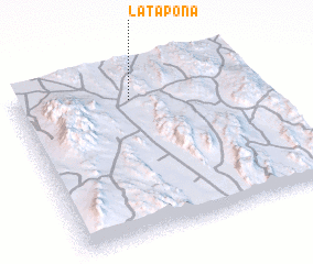 3d view of La Tapona