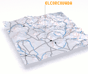 3d view of El Corcovada