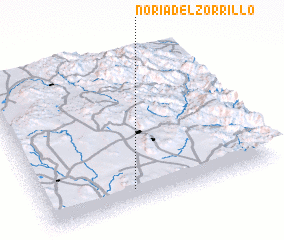 3d view of Noria del Zorrillo