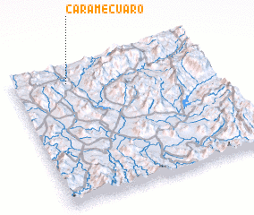 3d view of Caramecuaro