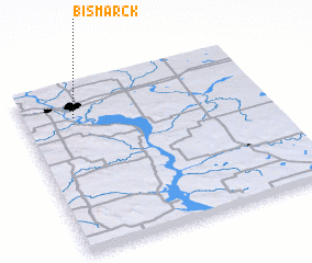 3d view of Bismarck