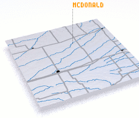 3d view of McDonald