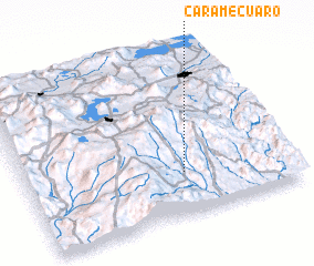 3d view of Caramécuaro