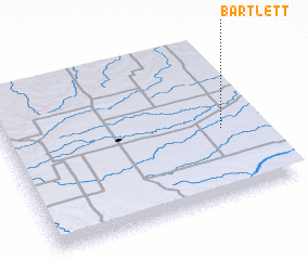 3d view of Bartlett