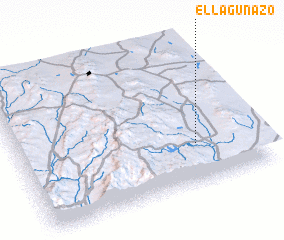 3d view of El Lagunazo