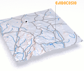 3d view of Ejido Cosío