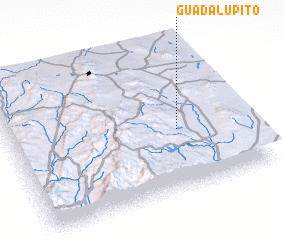 3d view of Guadalupito