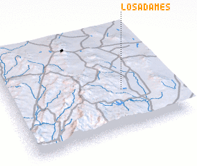 3d view of Los Adames