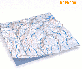 3d view of Bordonal