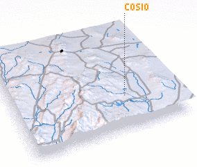 3d view of Cosío