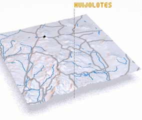 3d view of Huijolotes