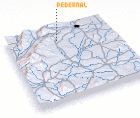 3d view of Pedernal