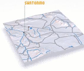 3d view of Santo Niño