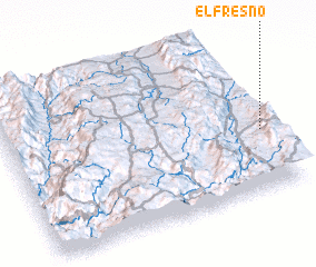 3d view of El Fresno