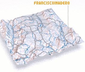3d view of Francisco I. Madero