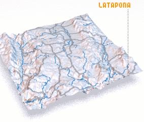 3d view of La Tapona