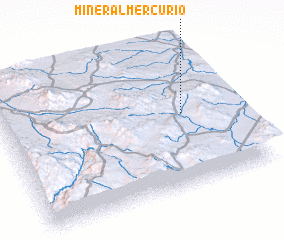 Mineral Mercurio Mexico Map Nona Net