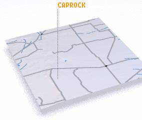 3d view of Caprock