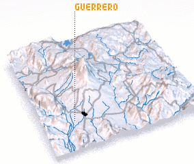 3d view of Guerrero