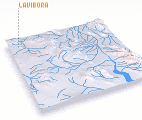 3d view of La Víbora