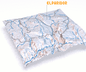 3d view of El Paridor