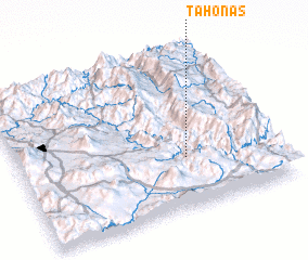 3d view of Tahonas