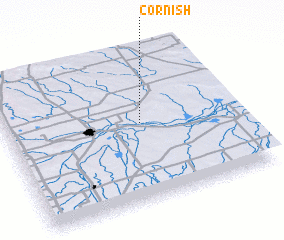 3d view of Cornish