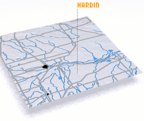 3d view of Hardin