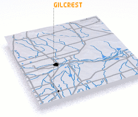3d view of Gilcrest