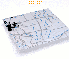 3d view of Woodmoor