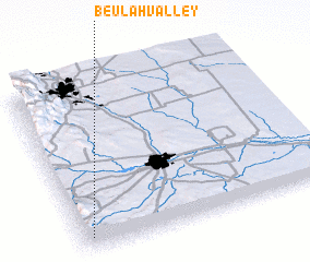 3d view of Beulah Valley