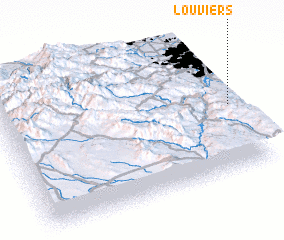 3d view of Louviers