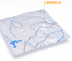 3d view of La Rómula