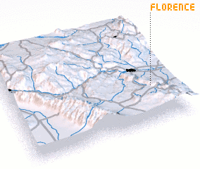 3d view of Florence