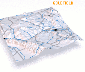 3d view of Goldfield