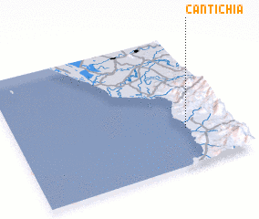 3d view of Cantichia