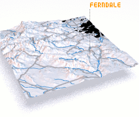 3d view of Ferndale