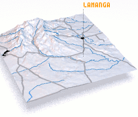 3d view of La Manga