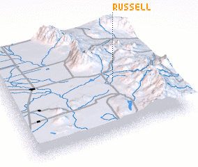 3d view of Russell