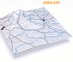 3d view of Gabaldon