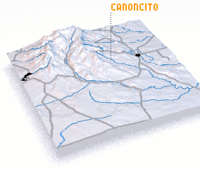 3d view of Canoncito