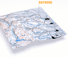 3d view of Raymond