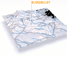 3d view of Blue Valley
