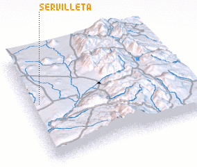 3d view of Servilleta